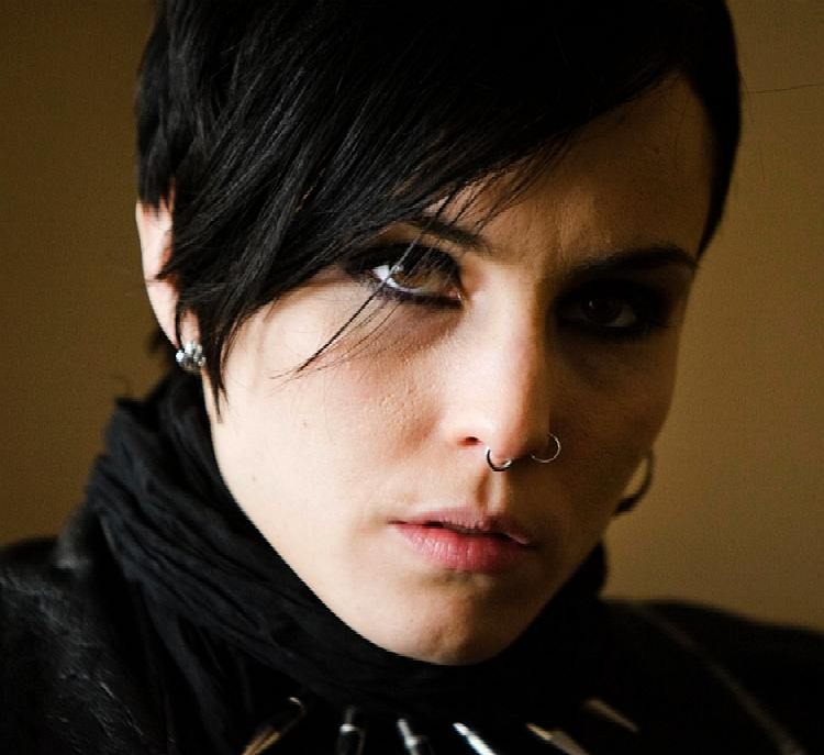 Noomi rapace for Cast of girl with the dragon tattoo