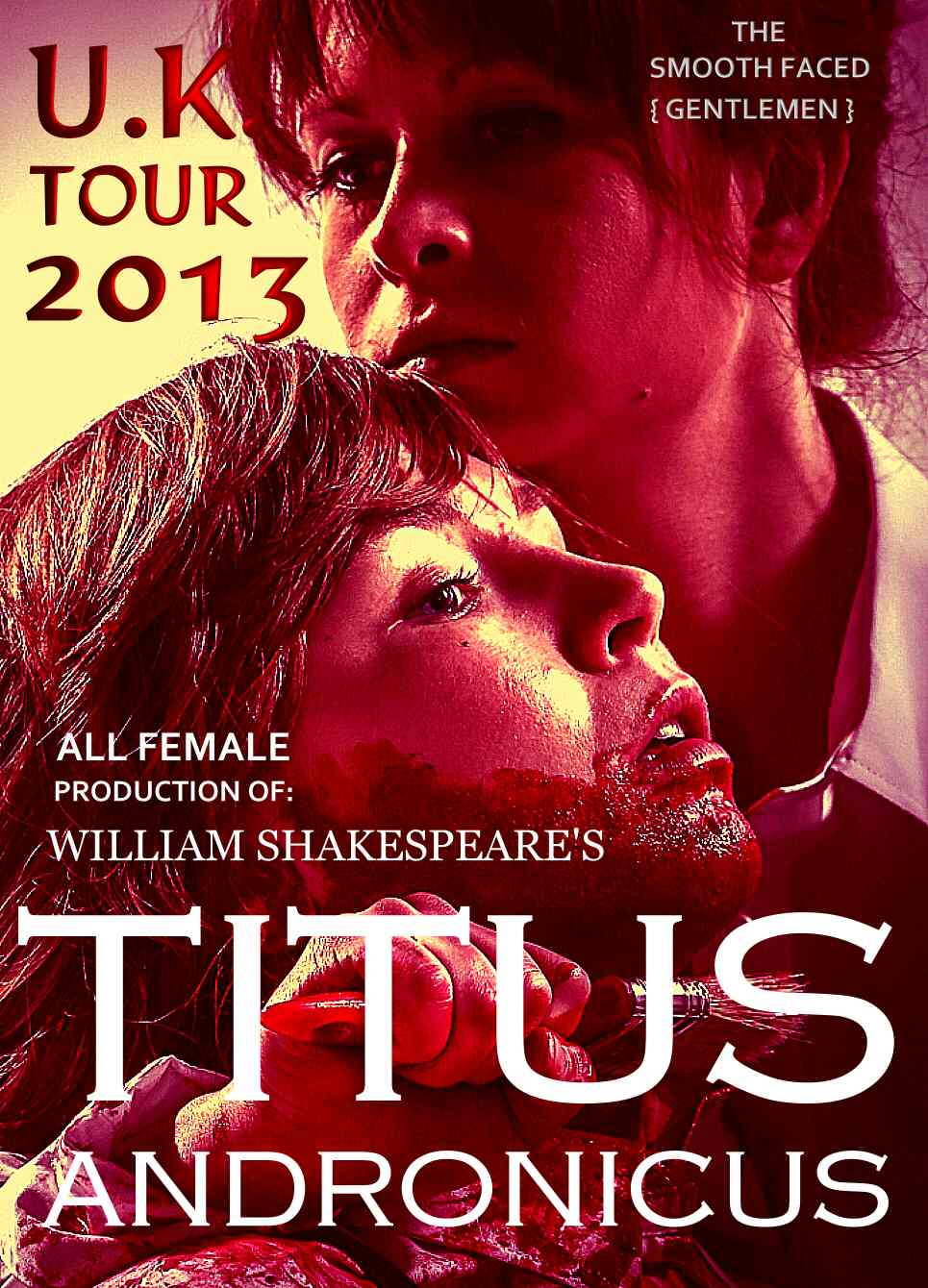 Titus Andronicus poster, Smooth Faced Gentlemen