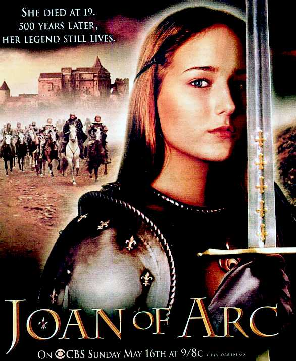 Joan of arc tv movie advertisement right joan of arc 1948 movie