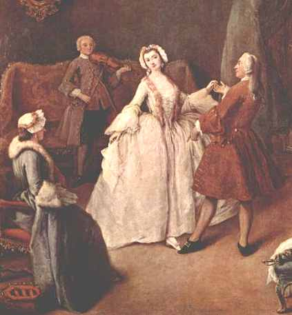 History of dance, Pietro Longhi painting