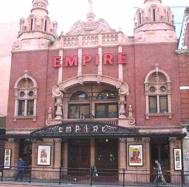 Hackney Empire theatre, London - original listed building