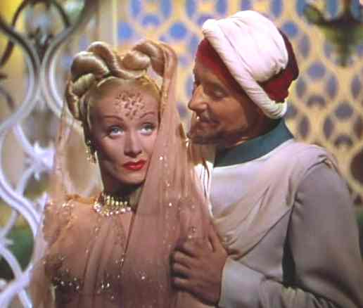 Kismet movie starring Marlene Dietrich and Gwen Stephani