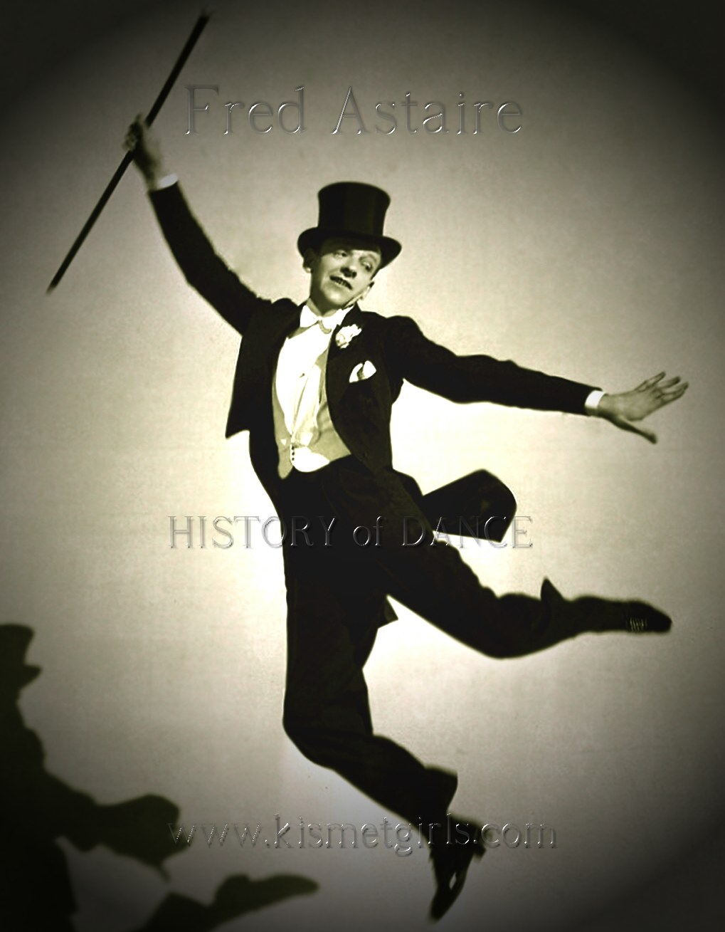 Fred Astaire percussive tap dance showman