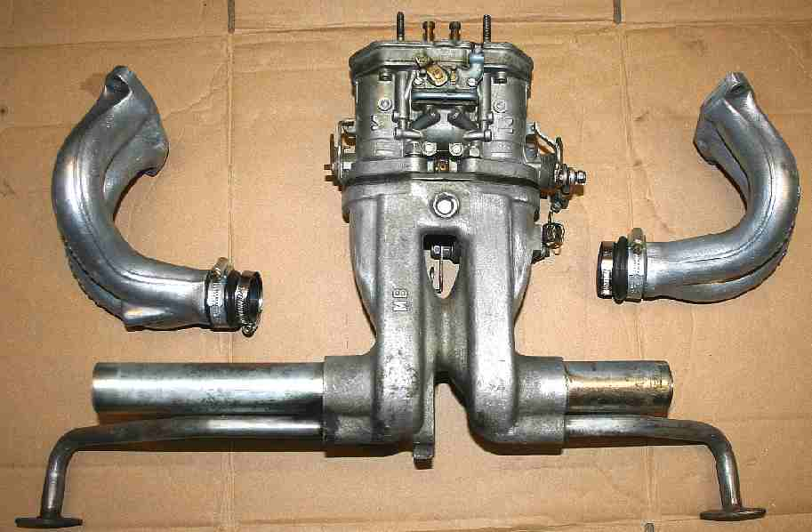 Twin choke Webber carburettor kit for VW aircooled engine - Nice!