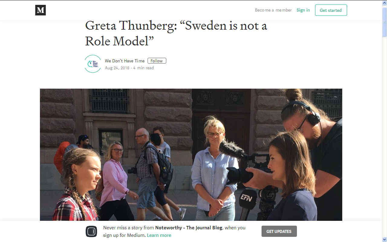 Greta Thunberg Wikipedia: GRETA THUNBERG'S UNITED NATIONS COP 24 SPEECH CLIMATE