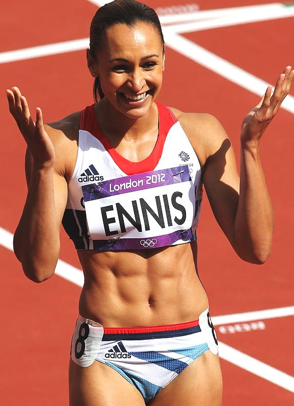 Jessica Ennis, Olympic gold medalist, London 2012